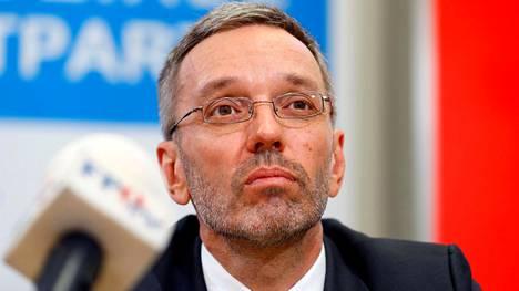 Itävallan sisäministeri Herbert Kickl.