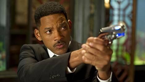 Will Smith Men in Black 3 -elokuvassa.
