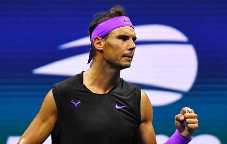 Rafael Nadal eteni vahvan esityksen jälkeen US Openin finaaliin.