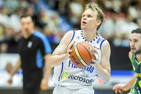 Maajoukkuepelaaja Teemu Rannikko palasi pelikentille sunnuntaina.