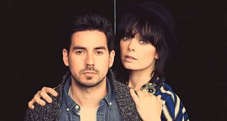 Eeva Louhivuori ja Manu Leudic ovat paitsi bändi, myös pariskunta.