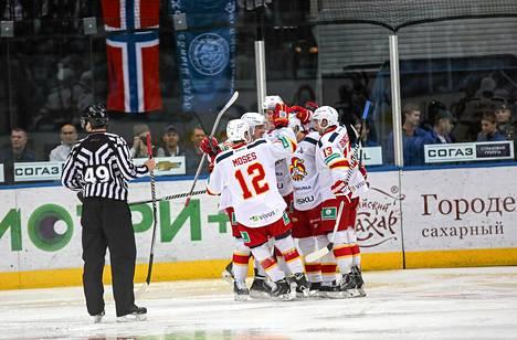 Helsingin Jokerit on KHL:n ainoa suomalaisjoukkue.