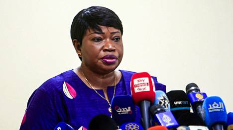 Kansainvälisen rikostuomioistuimen ICC:n syyttäjä Fatou Bensouda.