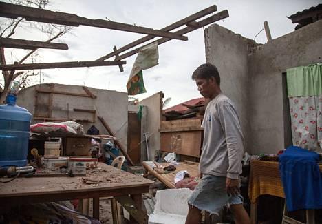 Marcelo Tudtud korjaa talonsa pian, mutta ensin perheen pitää ilmesesti asua pihalla.