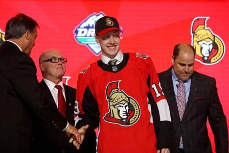 Ottawa Senatorsiin varatun Lassi Thomsonin valinta oli pieni yllätys.