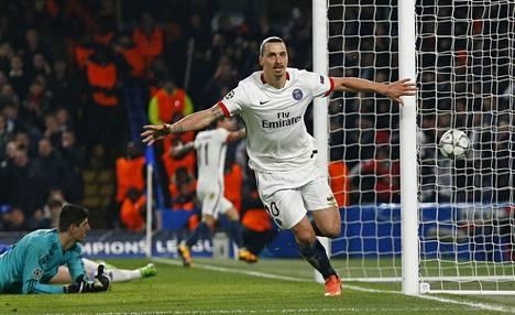 Zlatan Ibrahimovič on tehnyt tällä kaudella 27 maalia.