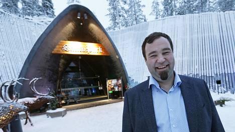 SantaParkin toimitusjohtaja Ilkka Länkinen vuonna 2015.