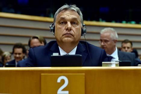 Unkarin pääministeri Viktor Orbán