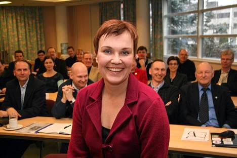 Hanna Iiskola-Kesonen irtisanoutui Lentopalloliiton toimitusjohtajan tehtävistä.