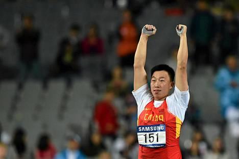 Zhao Qinggang tuuletti ennätysheittoaan, jolla nousi kauden maailmntilastossa kakkoseksi ohi Antti Ruiuskasen.