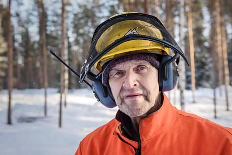 Metsuri ja voimamies Jaakko Pessinen on pysynyt terveenä pitkään.