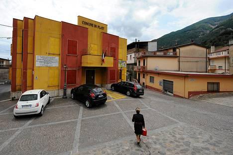 Platin kunnantalo Reggion lähellä Etelä-Italiassa.