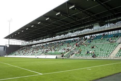 Suomen cupin miesten loppuottelu pelataan Turun Veritas-stadionilla, jossa sunnuntaina pelattiin välieräottelu Inter–FC Lahti.