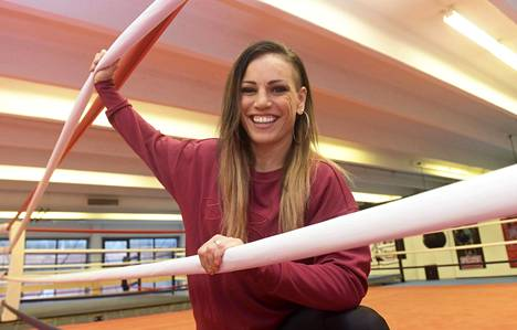 Eva Wahlström puolustaa nyrkkeilyn maailmanmestaruuttaan Las