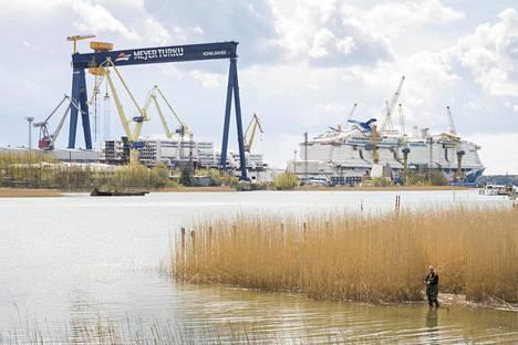 Meyer-yhtiön Turun-telakan merkitys Suomen taloudelle ja työllisyydelle on iso.