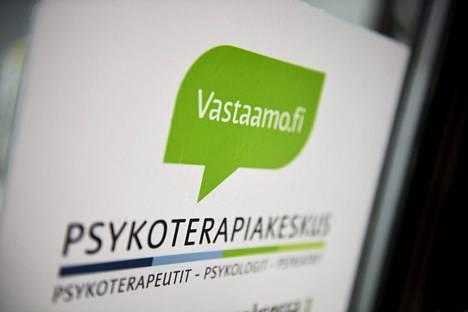 Psykoterapiakeskus Vastaamon toimipiste Malmilla Helsingissä 26. lokakuuta 2020.