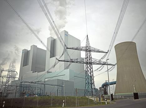 Grevenbroichissa olevan hiilivoimalan hiilidioksidipäästöt ovat suurimmat Saksassa.