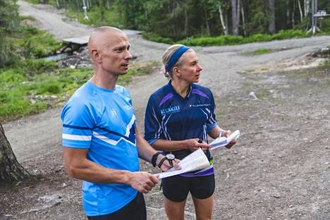 Kaisa Reiniuksen ja Juha Lehtosen mielestä ratkaiseva asia kilpailussa on toimintakyvyn säilyminen.