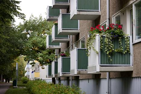 Puotilan Rantakartanontien talot on rakennettu 1960-luvun alussa.