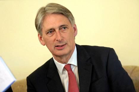 Britannian uusi ulkoministeri Philip Hammond.