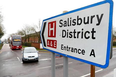 Sergei Skripal yritettiin murhata Salisburyssä toukokuussa.