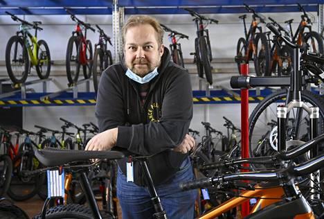 Nordic Bike Leasingin Jani Lundbergin mukaan verovapaus ja koronavirus ovat tuoneet lisänostetta työsuhdepyöräbisnekseen.