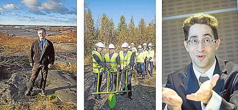 Energiayhtiö E.on vetäytyi hankkeesta lokakuussa 2012. Päätös oli kova isku Pyhäjoen kunnalle ja Fennovoimalle. Kunnanhallituksen puheenjohtaja Matti Pahkala seisoi ydinvoimalan rakennuspaikan Hanhikiven rannalla. Syyskuussa 2014 alettiin rakentaa ydinvoimalan tietä, vaikka lopullinen rakentamispäätös ei vielä ollut selvä. Fennovoiman toimitusjohtaja Juha Nurmi (vas.), kunnanjohtaja Matti Soronen ja Risto Seppänen ely-keskuksesta löivät yhteisen lapion maahan. Fortum ilmoitti kesäkuussa 2015 jäävänsä pois hankkeesta, ja kroatialaisyhtiö Migrit Solarna Energijan osuus Fennovoimasta tuli ilmi. Migritin johtaja Grigory Edel vieraili Suomessa 3. heinäkuuta.