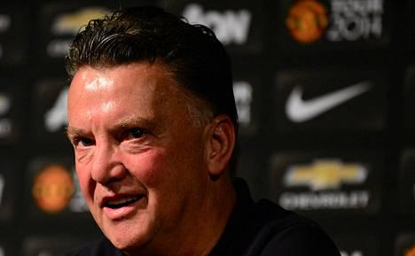 Louis van Gaalin ensimmäinen ottelu Manchester Unitedin managerina ei olisi voinut mennä paremmin. ManU tyrmäsi Los Angeles Galaxyn jättiyleisön edessä 7–0.