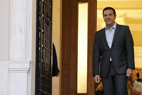 Syriza-puolueen johtaja Alexis Tsipras erosi Kreikan pääministerin paikalta viime viikolla, mutta haluaa nyt takaisin valtaan. Hänen puolueensa johtaa mielipidetiedusteluja.