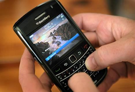 Blackberryt ovat olleet suosittuja laitteita yrityskäytössä.
