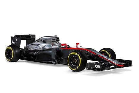 Tässä on McLaren-Hondan ensi kauden auto MP4-30.