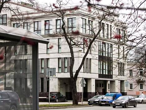 Pietarin trollikeskuksen vanhat tilat sijaitsivat Savuškininkadulla kaupungin pohjoisosissa.