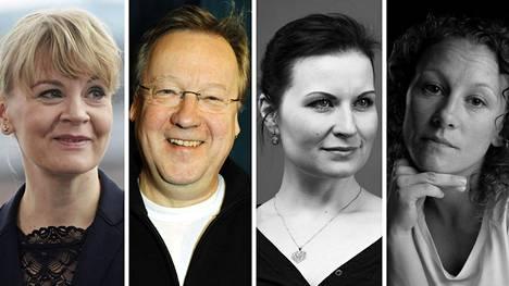 Susanna Mälkki (vas.), Rabbe Smedlund, Jenny Villanen ja Natasha Lommi.