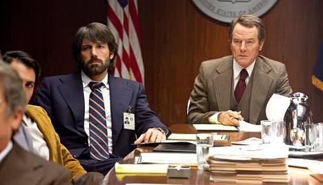 Ben Affleck (vas.) myös näytteli ohjaamassaan Argossa. Elokuva voitti juuri parhaan elokuvan Oscarin.