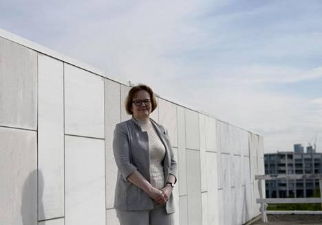 Projektinjohtaja Merja Ikosen mukaan Finlandia-talon julkisivun marmorilaattojen kokoa, paksuutta tai kiinnitystapaa ei muuteta tulevassa remontissa.