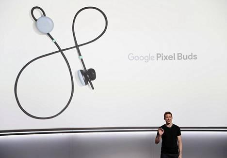 Googlen Pixel Bud -kuuloke.