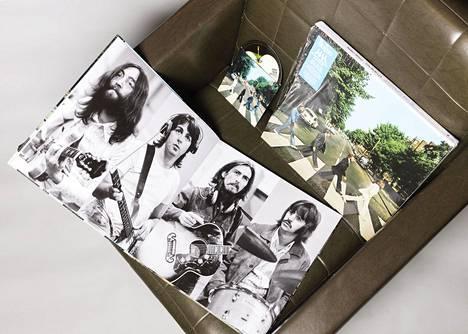 The Beatles-yhtyeen Abbey Roadin erikoispainos juhlistaa albumin 50-vuotispäivää.