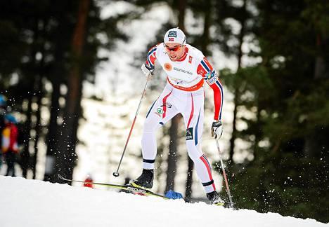 Petter Northugin meno oli nihkeää 15 kilometrin kisassa.