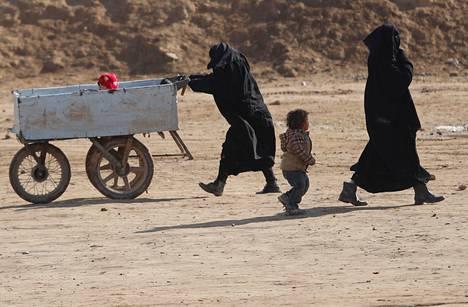 Pelastakaa Lapset on vaatinut lasten evakuoimista al-Holin leiriltä.