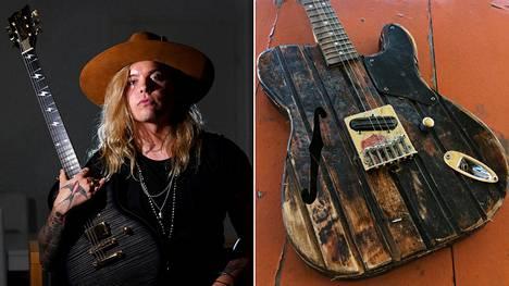 Archie Cruzin eli Arttu Kuosmasen ystävä teki hänelle omalaatuisen kitaran, joka koki sitten kovia.