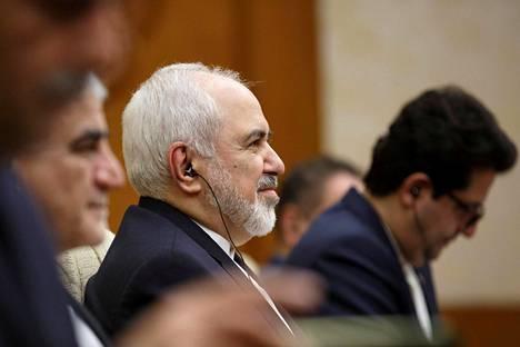 Iranin ulkoministeri Mohammad Javad Zarif vieraili viikonloppuna Pekingissä.