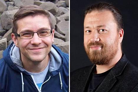Mikko Meriläinen (vas.) ja Tommi Tossavainen.