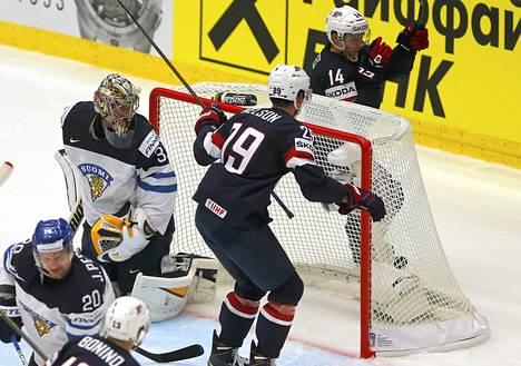 Yhdysvallat juhli Pekka Rinteen maalilla.