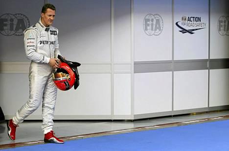 Michael Schumacher ajoi Mercedeksellä formula ykkösiä kolme kautta.