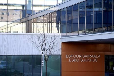 Espoon sairaala on Espoon kaupungin sairaala, jossa hoidetaan iäkkäiden potilaiden akuutteja sairauksia.