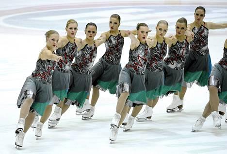 Marigold IceUnity voitti SM-kultaa jo 12. kerran.