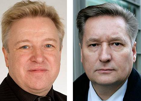 Matti Kaarlejärvi ja Markku Rossi