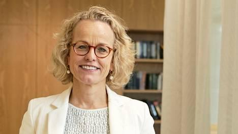 Norjan eläkerahaston vastuullisuusjohtaja Carine Smith Ihenacho kotikaupungissaan Lontoossa.