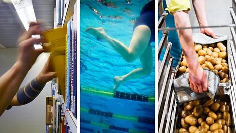 Lakko vaikuttaa muun muassa kirjastoihin, kuntien liikuntapalveluihin ja kouluruokailuun.