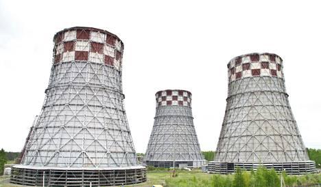 Fortumin omistama Tjumenin voimala-alue Länsi-Siperiassa Venäjällä.